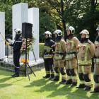 herdenkingsplechtigheid brand in de Innovation - 22 mei 2017