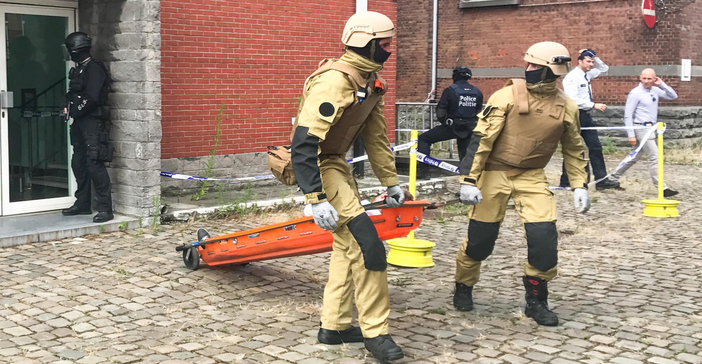 Casualty Extraction Team, CET, nouvelle équipe d'intervention du SIAMU