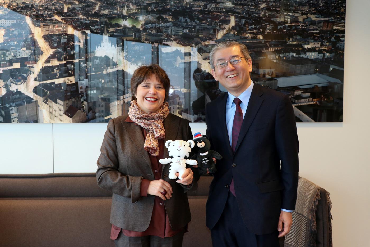 Rencontre ambassadeur de Corée du Sud