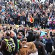 Témoignages de soutien aux victimes au cœur de Bruxelles