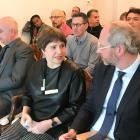 Cécile Jodogne et Christian Saelens, délégué général Wallonie Bruxelles