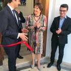 Cécile Jodogne inaugure les nouveaux bureaux de Metis à Tunis