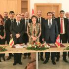 La déléguation rencontre le Ministre tunisien des technologies