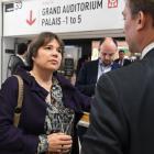 Cécile Jodogne représente Bruxelles, leader de l'écoconstruction au Marché international des professionnels de l'immobilier (MIPIM 2019)