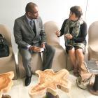 Mission en Côte d'Ivoire : En discussions avec Aboubacar Kampo, représentant UNICEF côté d'Ivoire concernant les droits de l'homme et le secteur privé
