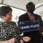 Mission écnomique présidée par Cécile Jodogne à Dakar, Sénégal
