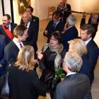 """Inauguration du  """"Musée L"""", en présence de la Princesse Astrid"""