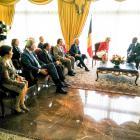 Rencontre officielle avec le Président de la République de Côte d'Ivoire, Alassane Ouattara
