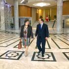 Au Ministère des Affaires étrangères avec l'Ambassadeur belge à Tunis, Monsieur Michel Tilemans,